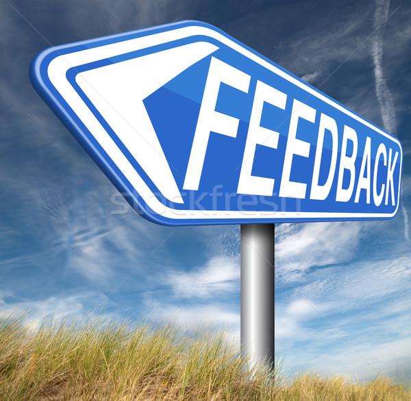 feedback Stock photo © kikkerdirk