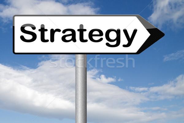 Strategie business marketing gebruikt methode plan Stockfoto © kikkerdirk