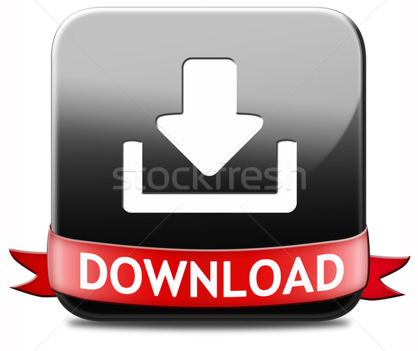 Download button Stock photo © kikkerdirk