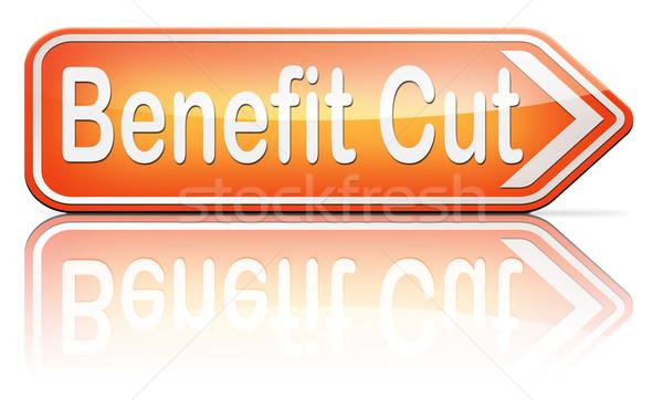 польза Cut налоговых жилье ребенка социальной Сток-фото © kikkerdirk