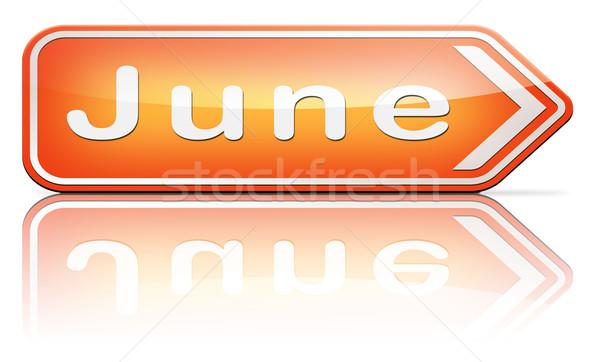 next june Stock photo © kikkerdirk