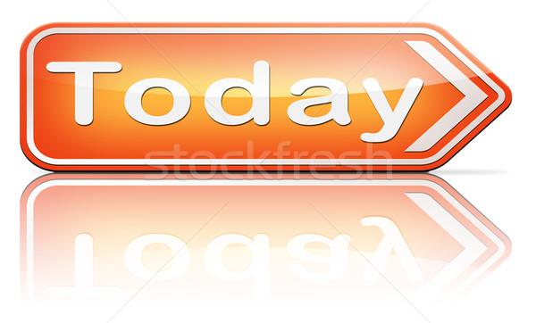 Dzisiaj porządku koncertu przypadku teatr danych Zdjęcia stock © kikkerdirk
