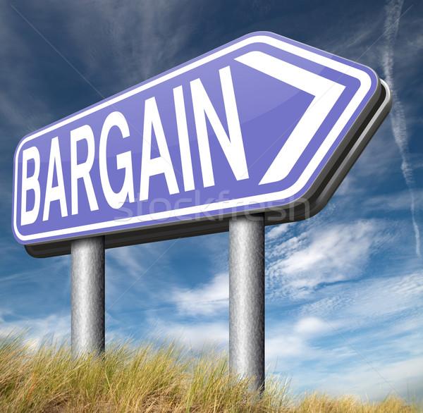 bargain Stock photo © kikkerdirk