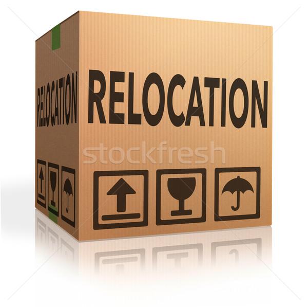 relocation Stock photo © kikkerdirk