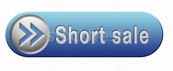 short sale Stock photo © kikkerdirk