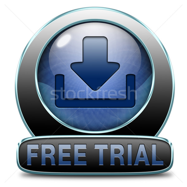 free trial download Stock photo © kikkerdirk