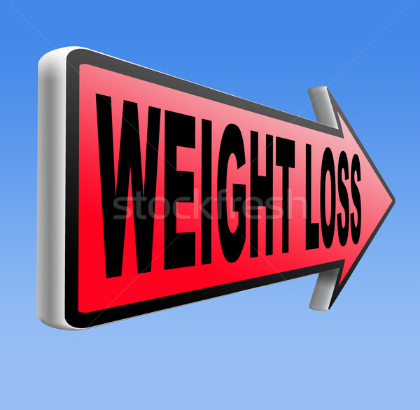 weight loss Stock photo © kikkerdirk