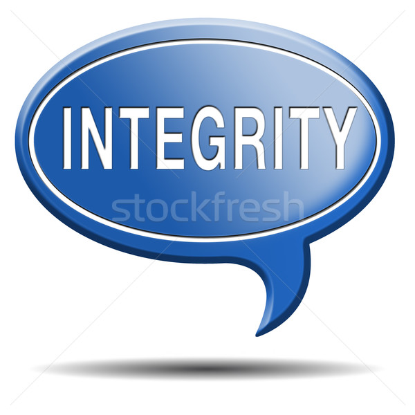 integrity Stock photo © kikkerdirk