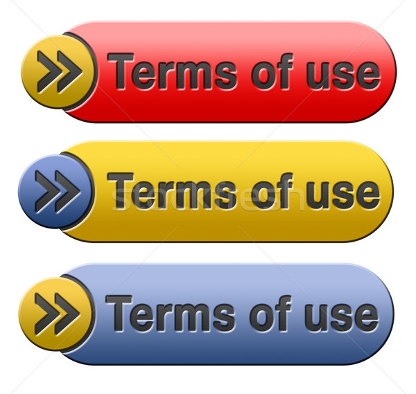 terms of use Stock photo © kikkerdirk