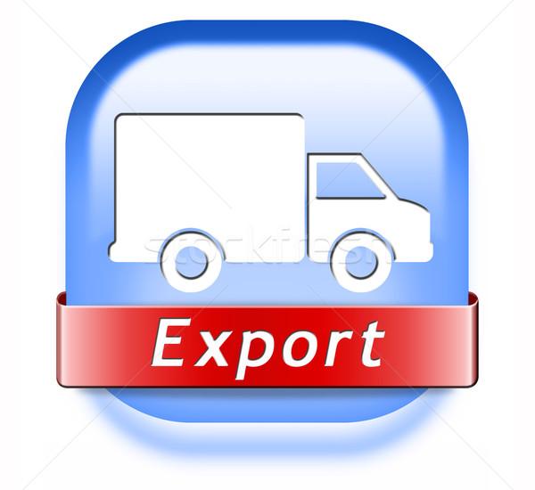 Esportazione commercio internazionale internazionali transporti globale commercio Foto d'archivio © kikkerdirk