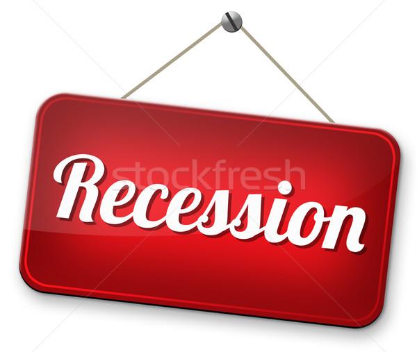 Сток-фото: рецессия · экономический · кризис · банка · складе · аварии
