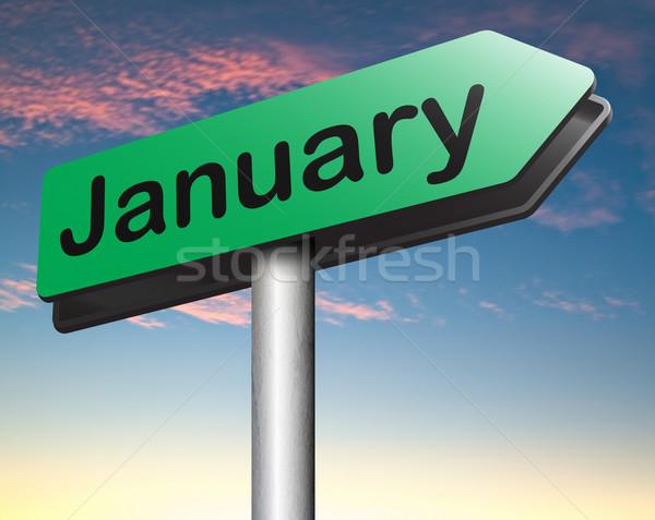 January Stock photo © kikkerdirk