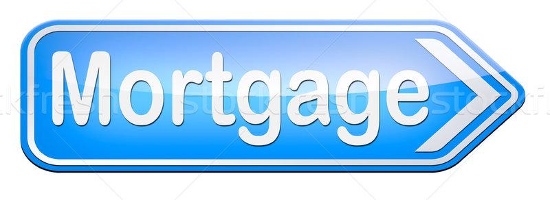 mortgage Stock photo © kikkerdirk