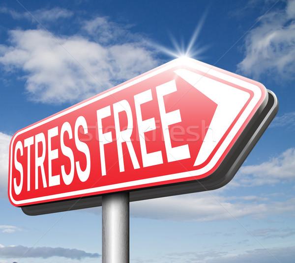 stress free zone Stock photo © kikkerdirk