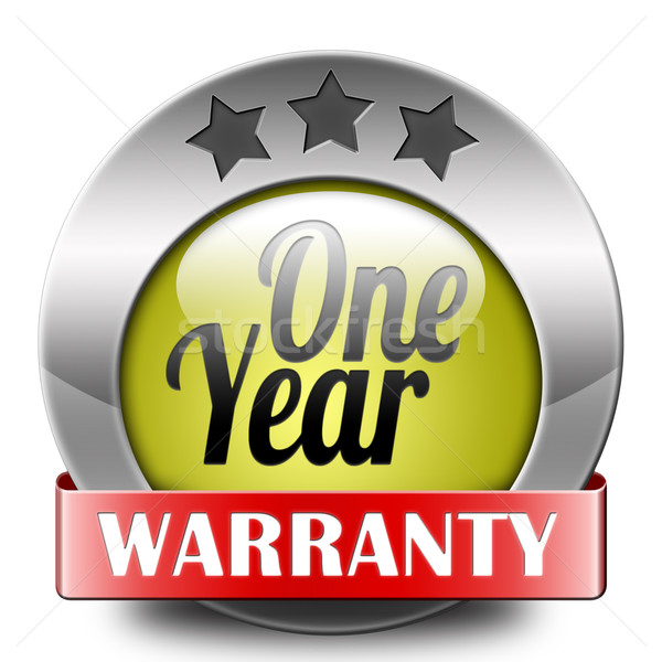 One year warranty Stock photo © kikkerdirk