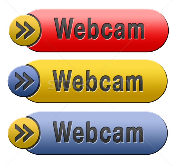 webcam button Stock photo © kikkerdirk