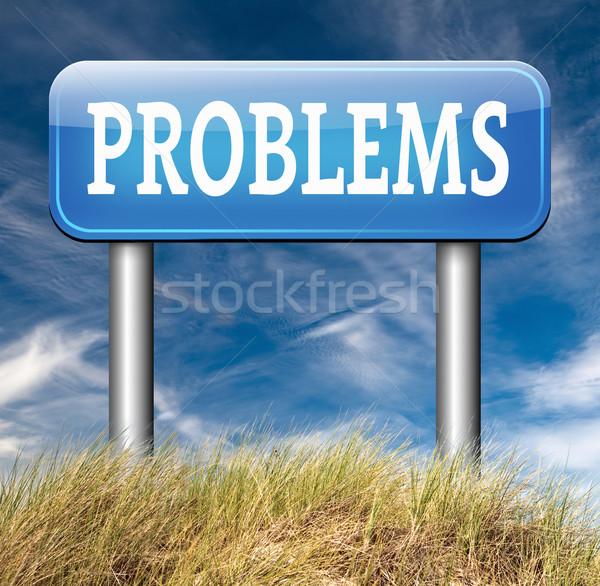 problems Stock photo © kikkerdirk