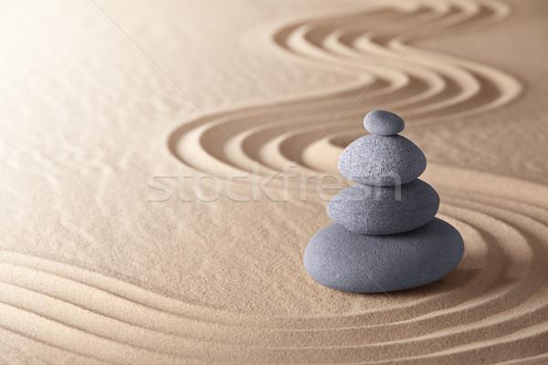 zen meditation garden Stock photo © kikkerdirk