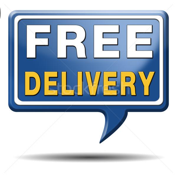 free delivery Stock photo © kikkerdirk
