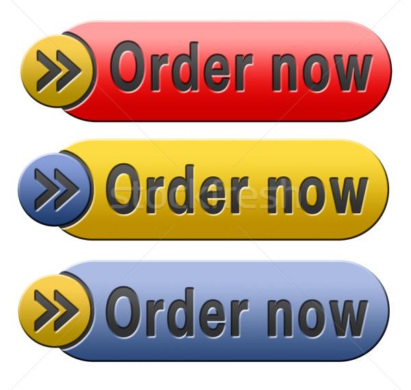 Celu teraz online Internetu internetowych sklep Zdjęcia stock © kikkerdirk