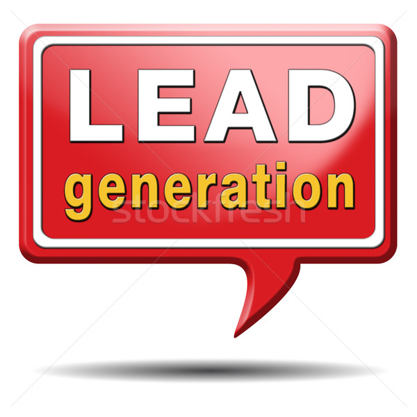 lead generation Stock photo © kikkerdirk