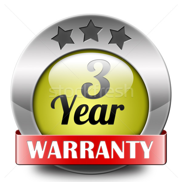 three year warranty Stock photo © kikkerdirk
