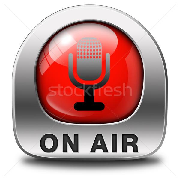 Aire vivir radio corriente radiodifusión música Foto stock © kikkerdirk