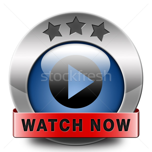Stock photo: watch now