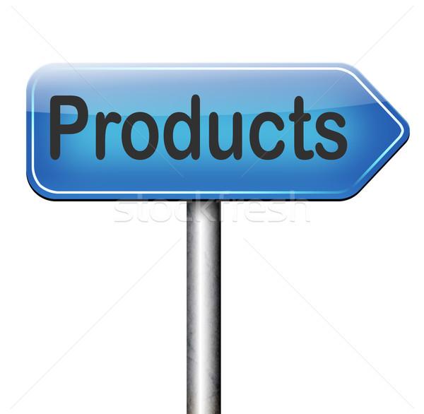 Producten verkoop online internet web winkel Stockfoto © kikkerdirk