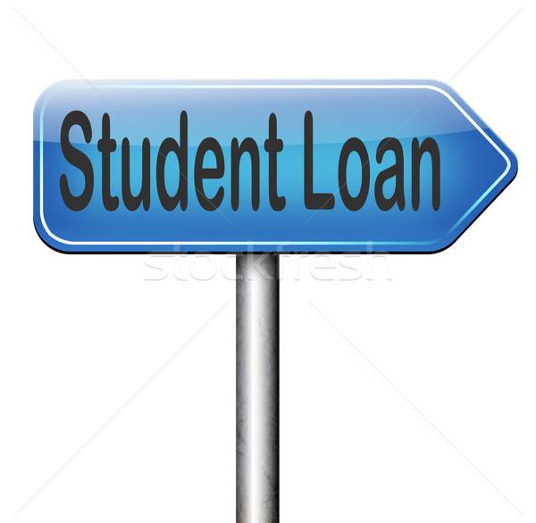 student loan Stock photo © kikkerdirk