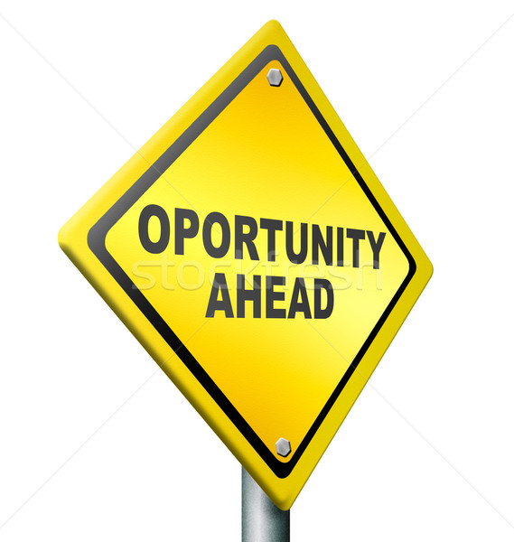 Stock photo: opportunity ahead