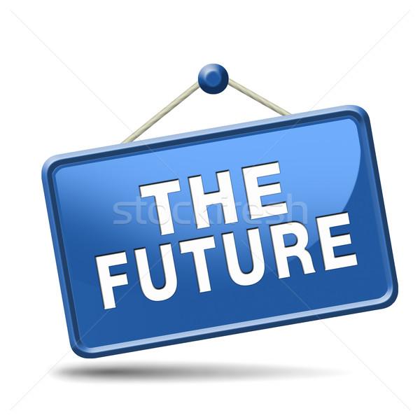 the future Stock photo © kikkerdirk