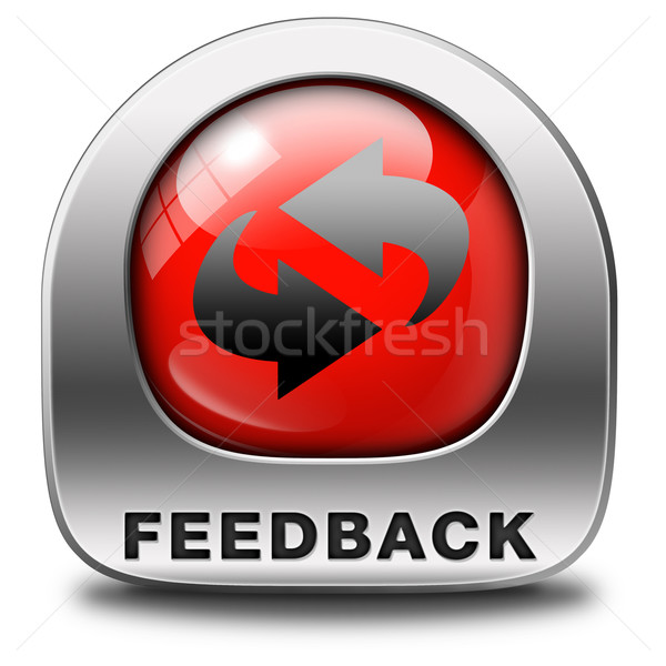 feedback Stock photo © kikkerdirk