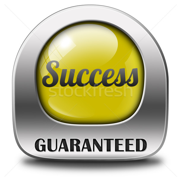 success guaranteed Stock photo © kikkerdirk