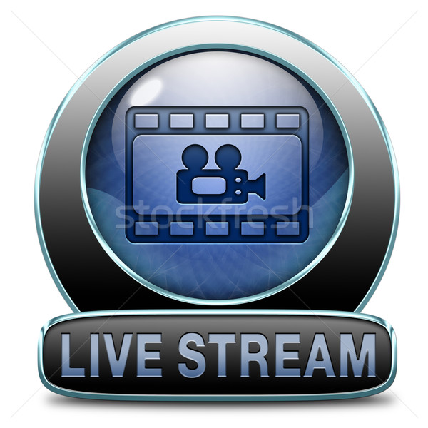 live stream video Stock photo © kikkerdirk