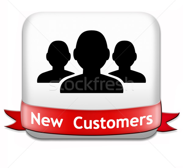 new customers Stock photo © kikkerdirk