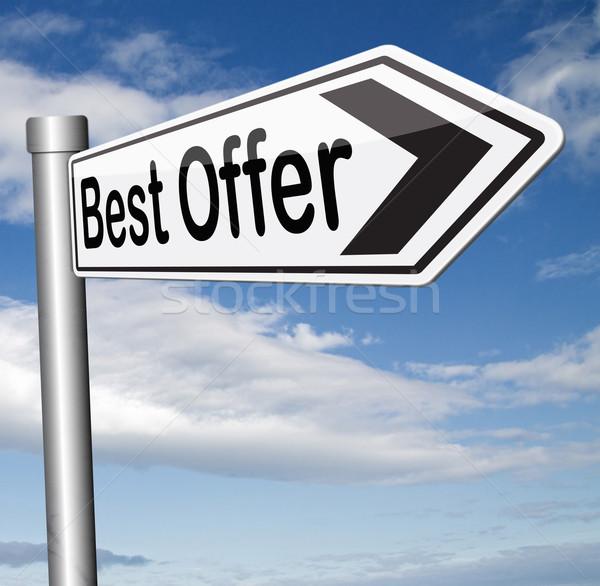 best offer Stock photo © kikkerdirk
