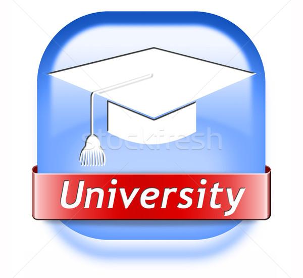 大学 教育 卒業 研究 アプリケーション ストックフォト © kikkerdirk
