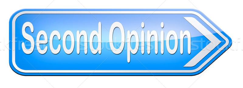 second opinion Stock photo © kikkerdirk