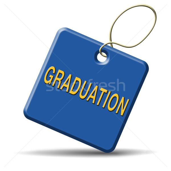 graduation Stock photo © kikkerdirk