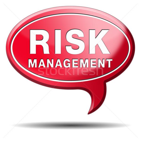 risk management Stock photo © kikkerdirk