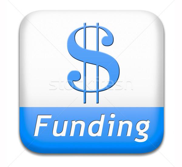 Knop liefdadigheid geld schenking winst Stockfoto © kikkerdirk
