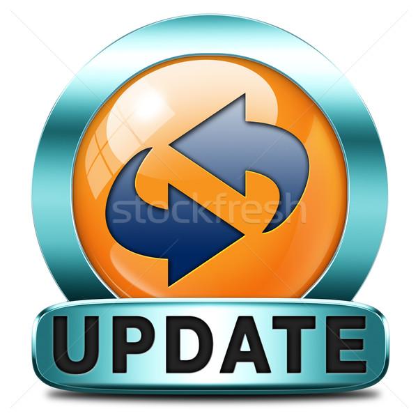 update icon Stock photo © kikkerdirk