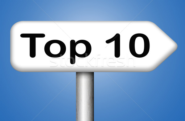 top 10 charts Stock photo © kikkerdirk