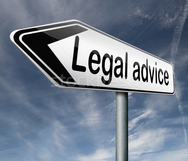 legal advice Stock photo © kikkerdirk