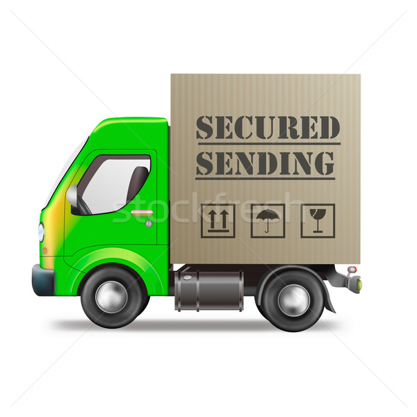 secured sending  Stock photo © kikkerdirk