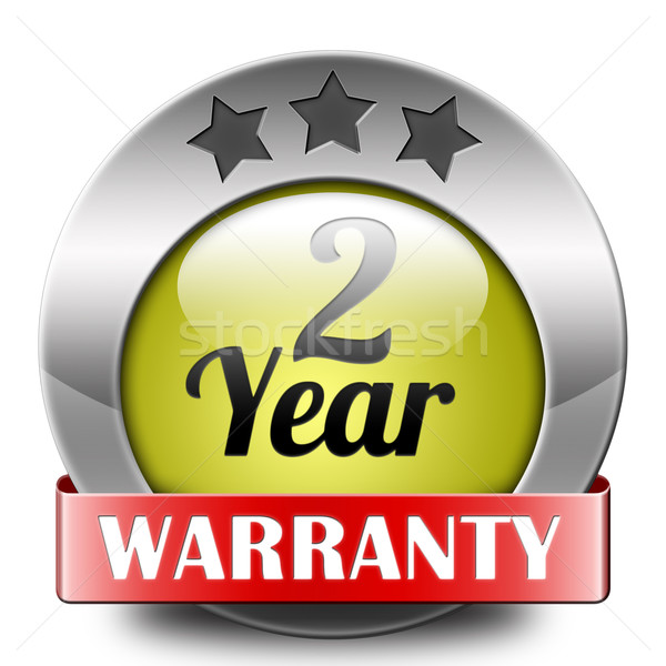 two year warranty Stock photo © kikkerdirk