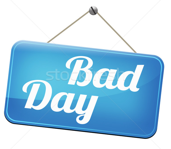 bad day Stock photo © kikkerdirk