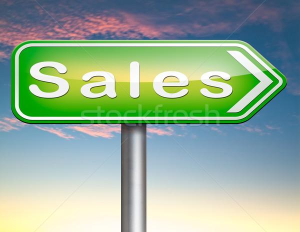 Online verkoop online winkelen korting web winkel Stockfoto © kikkerdirk