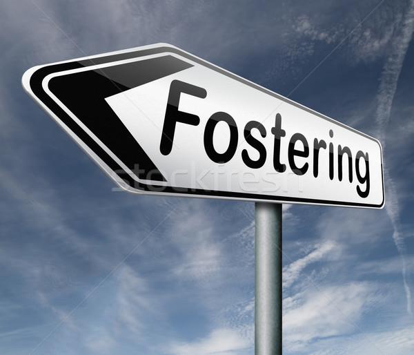 fostering Stock photo © kikkerdirk